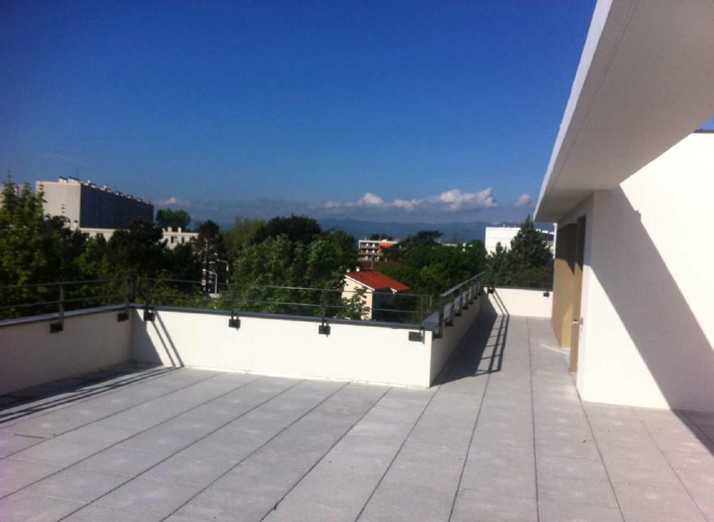 Vente appartement t4 maison sur le toit lyon 5 valdo for Jardins et terrasses lyon