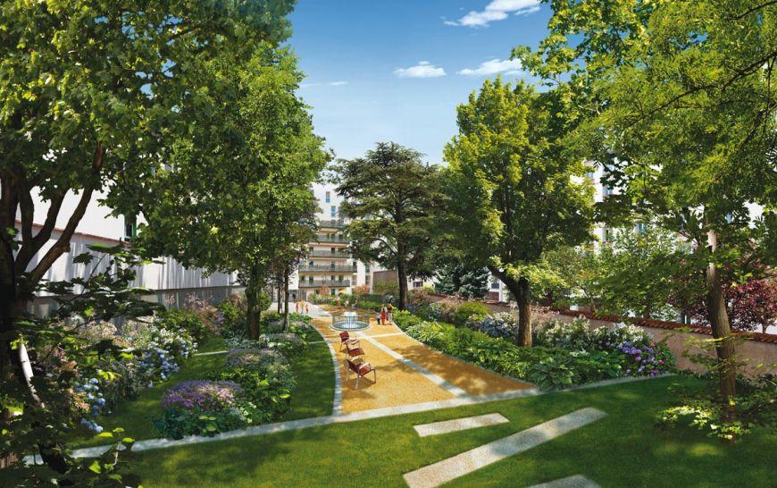 Vente appartement t3 toit terrasse villeurbanne maisons neuves 377000 m2 - Terrasse jardin marais villeurbanne ...